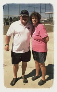 Linda & Twins Mgr Ron Gardenhire