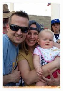 My buddy Jared and his wife Kelly and daughter Jordyn in Arizona!