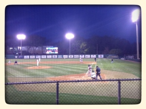 Mercer vs Jacksonville!  Mercer won 4-2!