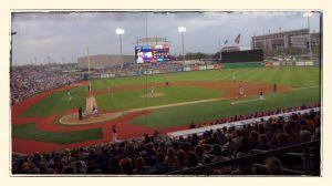 LSU - Football Stadium in Center Field!