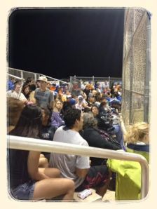 Crowd at Cape Coral and Mariner High School baseball game!
