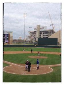 Texas A&M - Football Stadium in Center Field!