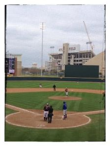 Texas A&M - Football Stadium in Center Field!