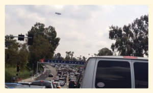 Traffic and the Blimp!