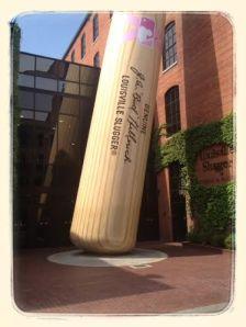That is a BIG bat!