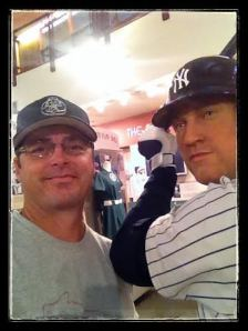 Derek Jeter crowding my selfie...