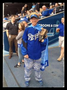 KC Super Fan Chris!