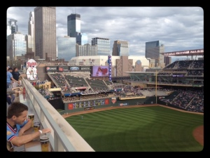 Great views at Target Field!