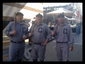 Members of the Vintage Base Ball Team the Cleveland Blues!  I am going to check them out next month!