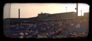 A 1000 fans at a American Legion game!
