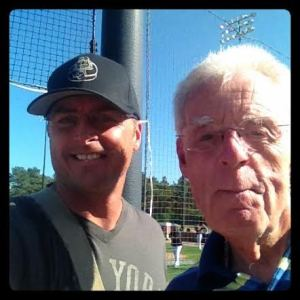 Me and Peter Gammons, Go Figure...
