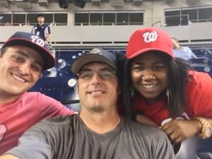 Nationals Family and Friends Section...