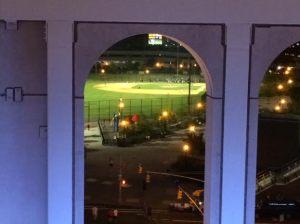 Baseball field where the old Yankee Stadium was...